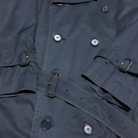 【USED】90'S BURBERRYS OVERSIZED TRENCH COAT NAVY