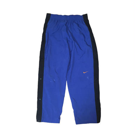 【USED】90'S NIKE NYLON PANTS SIDE SNAP BUTTON