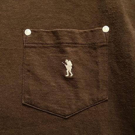 【USED】90'S A BATHING APE SOLDIER LOGO POCKET T-SHIRT