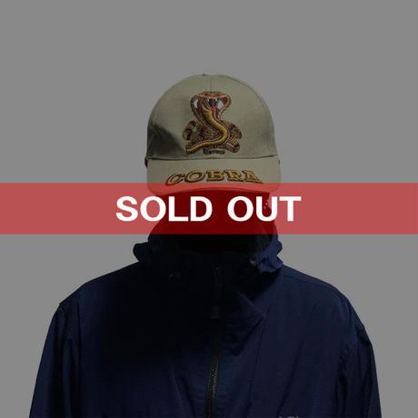 【USED】COBRA EMBROIDERED CAP