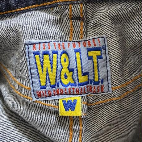 【USED】90'S W.&L.T. MECHANICAL DENIM TROUSERS