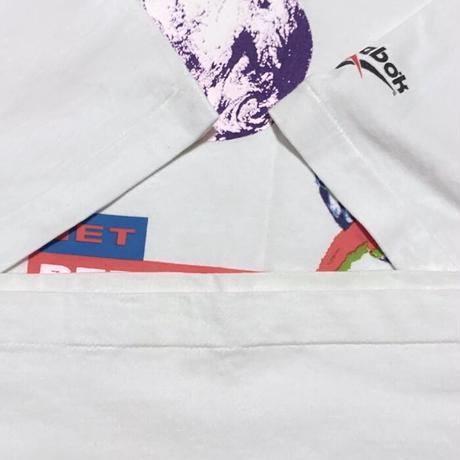 【USED】90'S PLANET REEBOK T-SHIRT