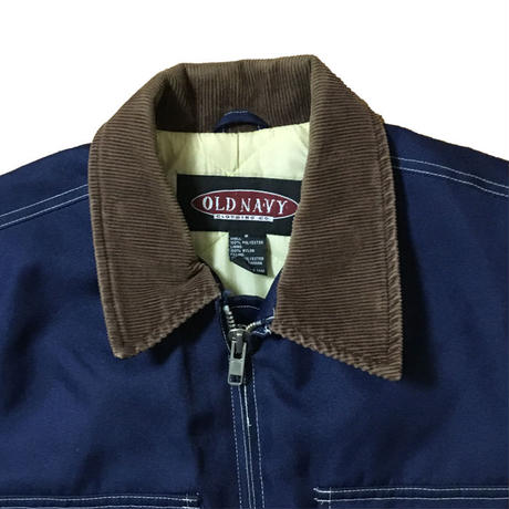 【USED】90'S OLD NAVY POLY JACKET