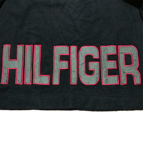 【USED】90'S TOMMY HILFOGER 2-WAY FLEECE PULLOVER