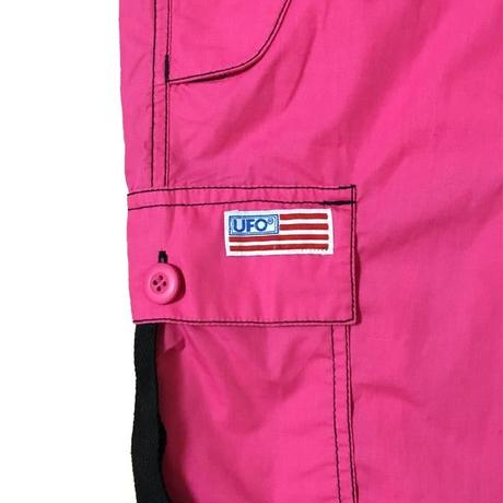 【USED】90'S UFO BUGGY PANTS PINK