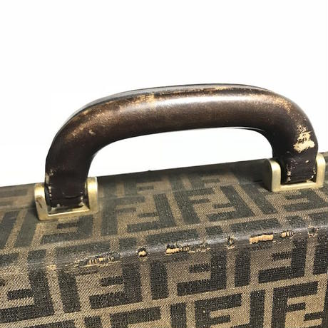 【USED】60'S-70'S FENDI ZUCCA PATTERN BRIEF CASE