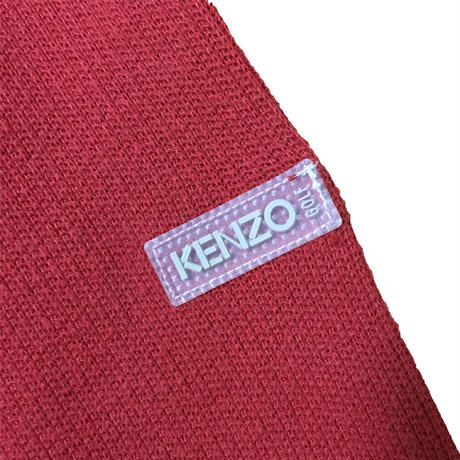 【USED】90'S KENZO GOLF COTTON SWEATER