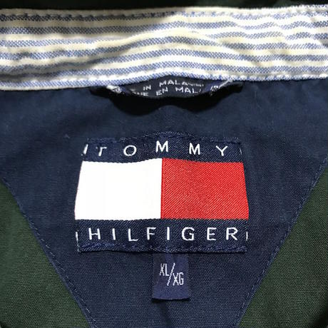 【USED】90'S TOMMY HILFIGER OVERSIZED DRIZZLER JACKET