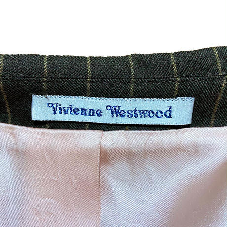 【USED】00'S VIVIENNE WESTWOOD MAN DOUBLE BREASTED JACKET