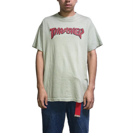 【USED】90'S  THRASHER OLD LOGO T-SHIRT