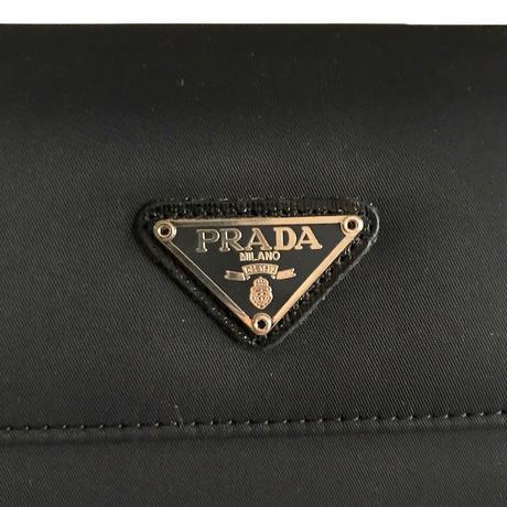【USED】PRADA NYLON LONG WALLET & CARD CASE