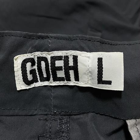【USED】00'S GOODENOUGH 2-WAY TECH PANTS ②