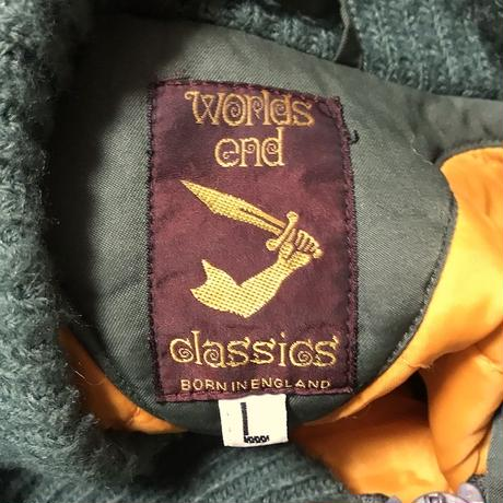 【USED】90'S WORLDS END CLASSICS BOMBER JACKET