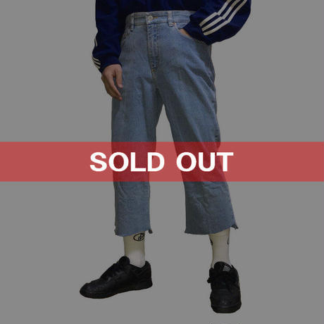 【USED】90'S DKNY JEANS CUTOFF DENIM PANTS