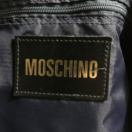 【USED】90'S MOSCHINO BOSTON BAG
