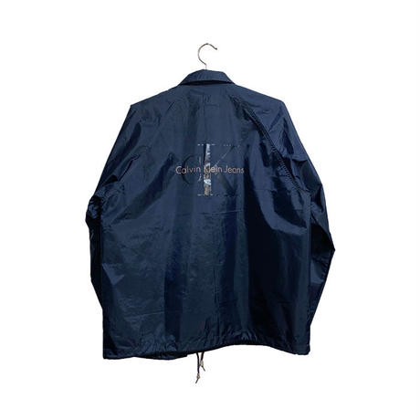 【USED】90'S CK CALVIN KLEIN JEANS COACH JACKET