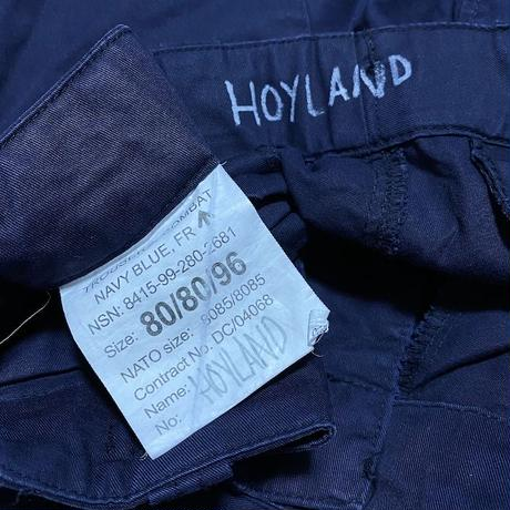 【USED】90'S-00'S BRITISH ARMY ROYAL NAVY COMBAT TROUSERS  (⑨ HOYLAND)