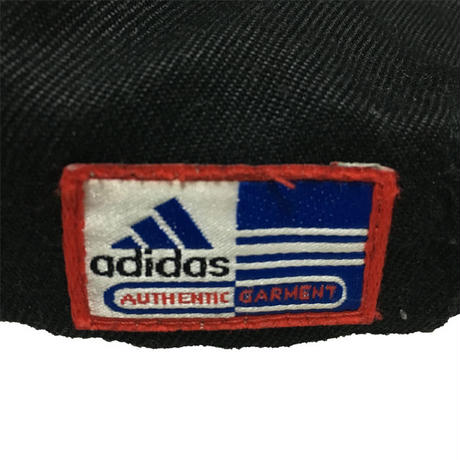 【USED】00'S ADIDAS EMBOSSING 3STRIPES LOGO CAP