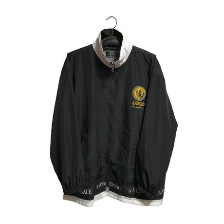 【USED】90'S A.VERSACE NYLON TRACK SUITS