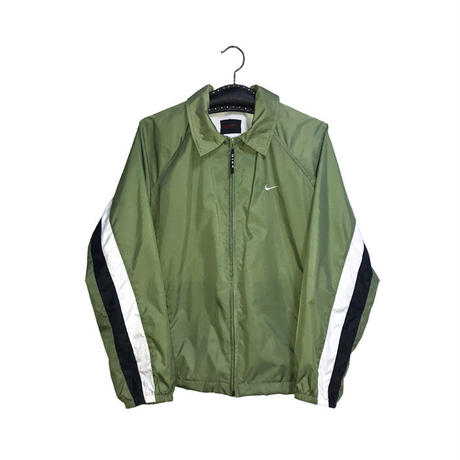 【USED】90'S NIKE NYLON JACKET MATCHA
