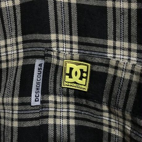 【USED】90'S DCSHOECOUSA OVERSIZED CHECK SHIRT