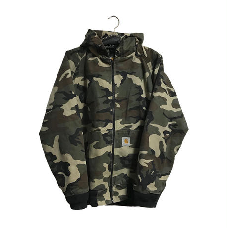 【USED】CARHARTT DACK LAND CAMO HOODED JACKET