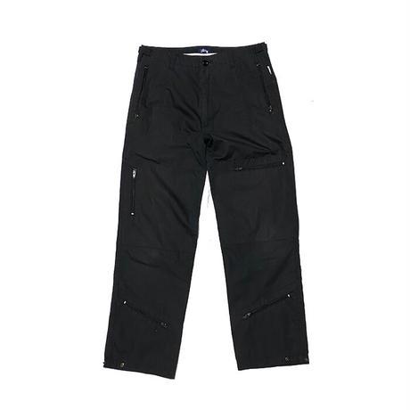 【USED】00'S STUSSY FLIGHT PANTS BLACK