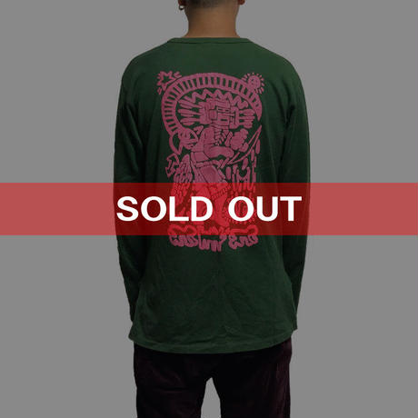 "【USED】90'S-00'S WORLDS END CLASSICS KEITH HARING ""DEVIL"" L/S T-SHIRT"