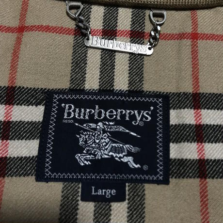 【USED】90'S BURBERRYS WOOL DRIZZLER JACKET