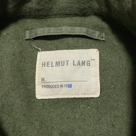 【USED】HELMUT LANG 1998 FOOT STRAP FIELD COAT