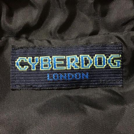【USED】CYBERDOG LONDON ZIP BOMBER BLOUSON