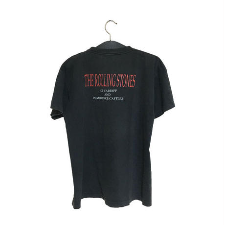 "【USED】90'S ROLLING STONES ""CARDIFF AND PEMBROKE CASTLES"" TOUR T-SHIRT"