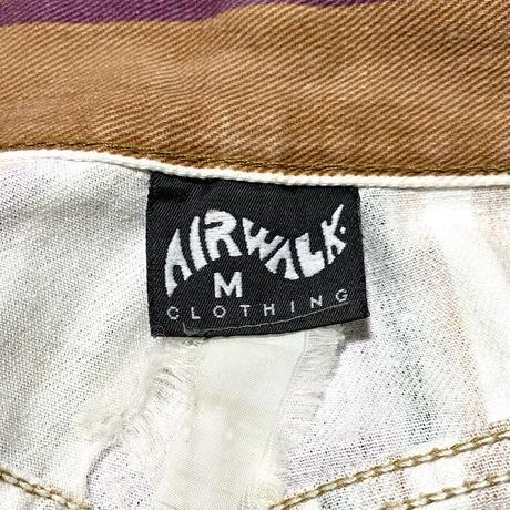 【USED】90'S AIR WALK MULTI STRIPE SHORTS