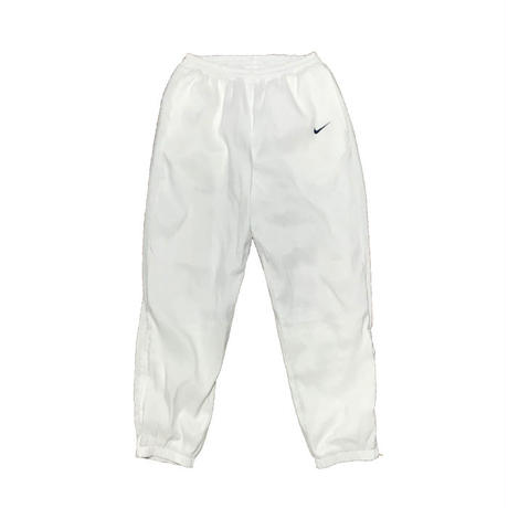 【USED】90'S NIKE TRACK PANTS WHITE
