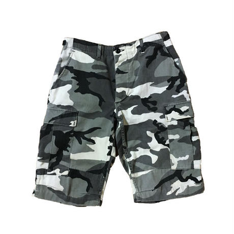 【USED】CITY CAMO SHORTS