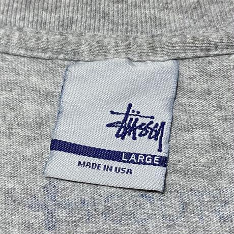 【USED】90'S STUSSY SKATE MAN T-SHIRT