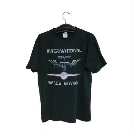 【USED】90'S SPACE STATION T-SHIRT