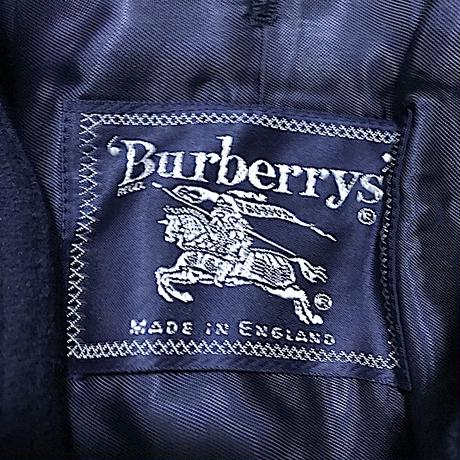 【USED】80'S-90'S BURBERRYS SHORT COAT MADE IN ENGLAND