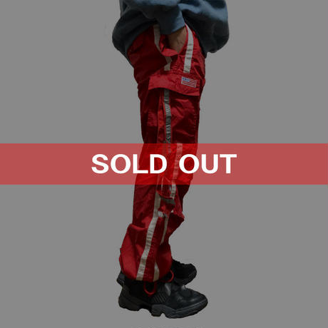 【USED】90'S-00'S UFO BUGGY PANTS RED
