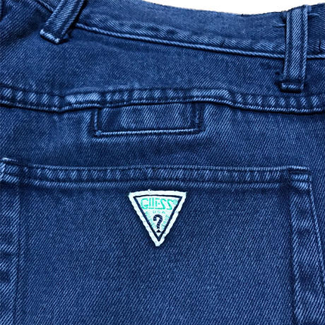【USED】90'S GUESS JEANS DENIM SHORTS