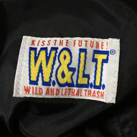 【USED】90'S W&LT NYLON EASY PANTS