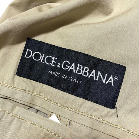 【USED】DOLCE & GABBANA 2003SS PARACHUTE JACKET