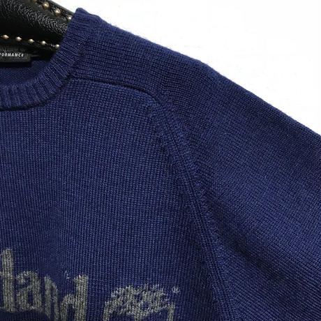 【USED】90'S TIMBERLAND WOOL KNIT SWEATER