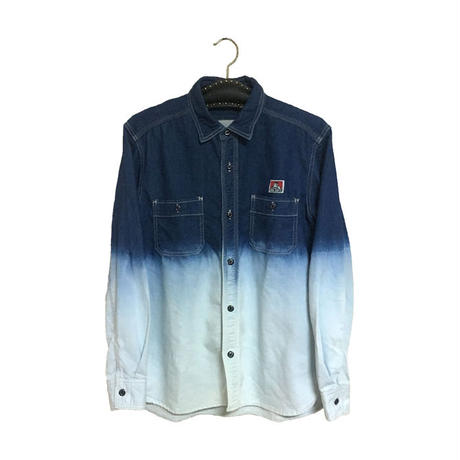 【USED】BEN DAVIS BLEACH SHIRT