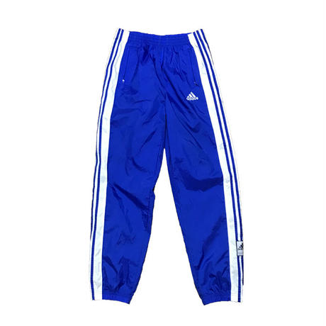 【USED】90'S ADIDAS SNAP BUTTON NYLON TRACK PANTS