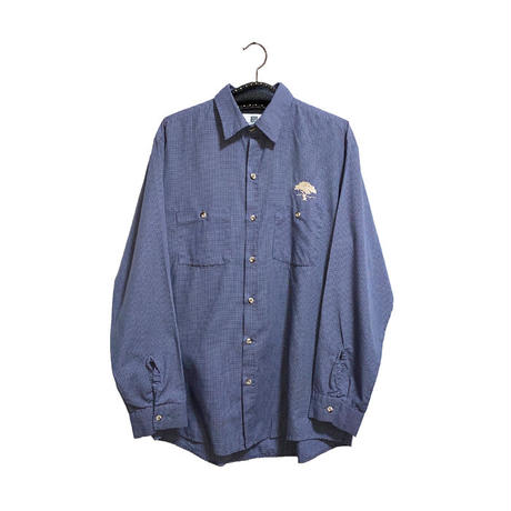 【USED】00'S REED BONSAI EMBROIDERY WORK SHIRT