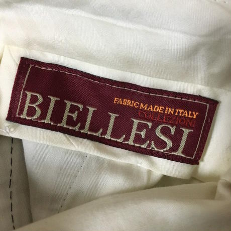 【USED】BIELESSI 2TUCK TROUSERS