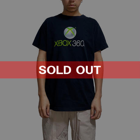 【USED】00'S  XBOX 360 T-SHIRT