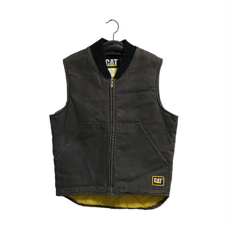 【USED】90'S CAT DUCK ZIP VEST