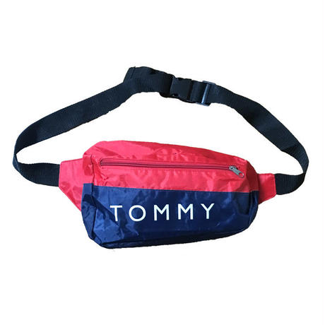 【USED】90S TOMMY HILFIGER BELT BAG